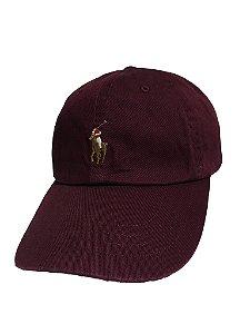 "Polo Ralph Lauren - Boné Baseball ""Burgudy"""