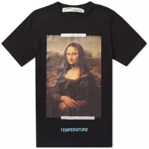 "OFF-WHITE - Camiseta Mona Lisa ""Black"""