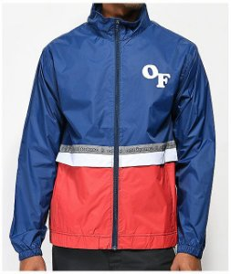 "ODD Future - Jaqueta Windbreaker ""Red/White/Blue"""