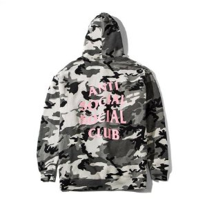 "ANTI SOCIAL SOCIAL CLUB - Moletom Not Gildan ""Camo/grey"""