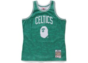 "Bape x Mitchell & Ness - Regata Swingman Celtics ""Green"""