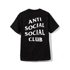 """ANTI SOCIAL SOCIAL CLUB - Camiseta Logo 2 """"Black"""""""