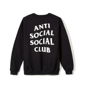 "ANTI SOCIAL SOCIAL CLUB - Moletom Mind Games ""Black"""