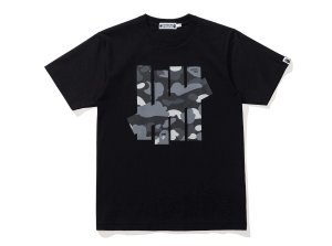 "Bape X UNDFTD - Camiseta  Camo Big Ape Head ""Black"""