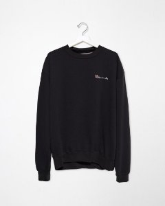 "Vetements x Champion - Moletom Srcript Vetements Logo ""Black"""