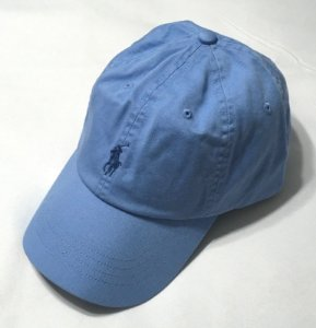 "Polo Ralph Lauren - Boné Baseball ""Light Blue"""