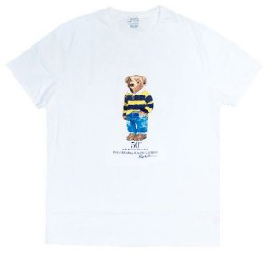 "Polo Ralph Lauren - Camiseta Polo Bear 50th Anniversary ""White"""