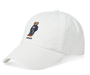 "Polo Ralph Lauren - Boné Polo Bear ""White"""