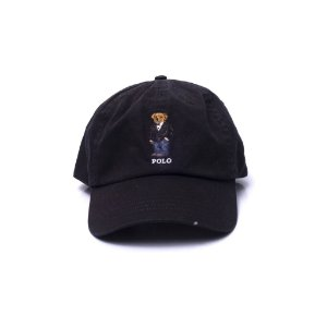 "Polo Ralph Lauren - Boné Polo Bear Suit ""Black"""