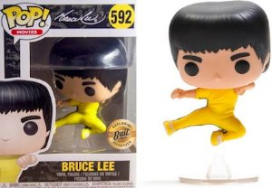 FUNKO POP - Boneco Bruce Lee #592 Custom Exclusive Bait