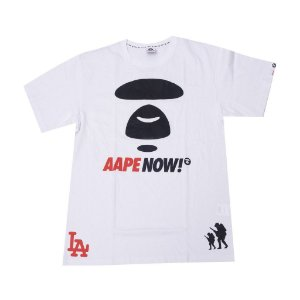 AAPE BY A BATHING APE - Camiseta Exclusive Complex Con LA
