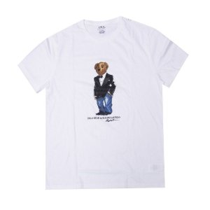 "Polo Ralph Lauren - Camiseta Polo Bear Suit ""White"""