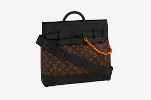 ENCOMENDA - Louis Vuitton x Virgil Abloh's - Bolsa Steamer MM ​