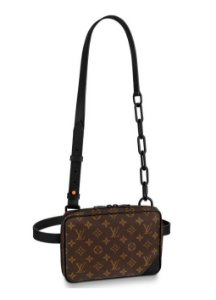 ENCOMENDA - Louis Vuitton x Virgil Abloh's - Bolsa Utility Front Bag 