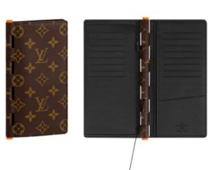 ENCOMENDA - Louis Vuitton x Virgil Abloh's - Carteira Brazza Hinge 
