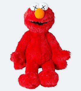 ENCOMENDA - UNIQLO x KAWS x Sesame Street - Pelúcia Elmo