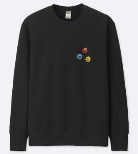 ENCOMENDA - UNIQLO x KAWS x Sesame Street - Moletom Heads (Elmo/Cookie/Bird)