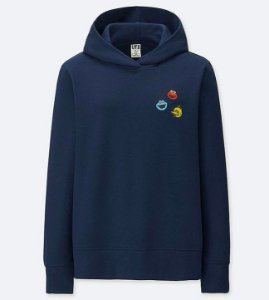 ENCOMENDA - UNIQLO x KAWS x Sesame Street - Moletom Heads Elmo/Cookie/Bird (Feminino)