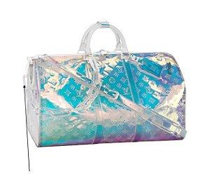 "ENCOMENDA - Louis Vuitton x Virgil Abloh's - Bolsa Keepall 50B ""Prism"""