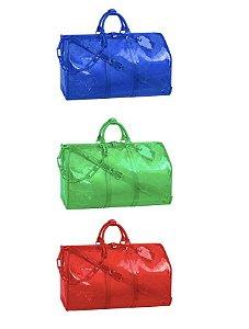 "ENCOMENDA - Louis Vuitton x Virgil Abloh's - Bolsa Keepall 50B ""Colors"""
