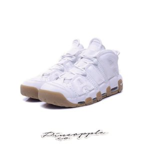 """Nike Air More Uptempo """"White/Gum"""" -NOVO-"""