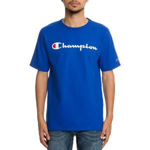 "CHAMPION - Camiseta Graphic Jersey ""Azul"" -NOVO-"