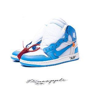 "Nike Air Jordan 1 Retro x OFF-WHITE ""UNC"""
