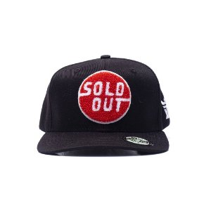 "Sold Out x Seven Brand - Boné Chenille ""Black"""