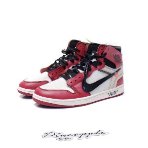 "Nike Air Jordan 1 Retro x OFF-WHITE ""Chicago"""