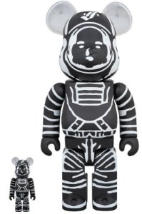 Bearbrick x Billionaire Boys Club - 100% & 400