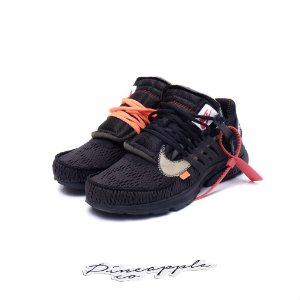 "Nike Air Presto x OFF-WHITE ""Black"" -USADO-"
