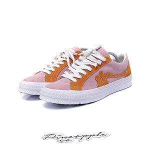 "Converse One Star Ox x Tyler the Creator Golf Le Fleur ""Pink Orange"""