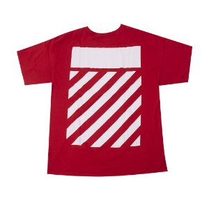 "Off-White x Champion - Camiseta Wisconsin ""Red"""