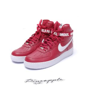 "Nike Air Force 1 High x Supreme ""Red"""