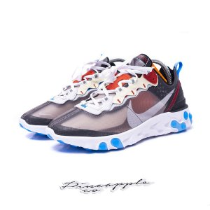 "NIKE - React Element 87 ""Dark Grey/Photo Blue"" -NOVO-"