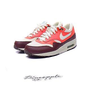 """Nike Air Max 1 Essential """"White/Crimson"""""""