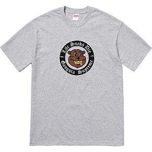 "SUPREME - Camiseta Life Sucks Die ""Grey"""