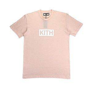 "KITH - Camiseta Classic Logo ""Light Pink"""