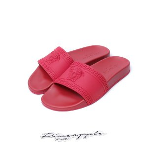 "Versace Chinelo Palazzo Pool ""Red"""
