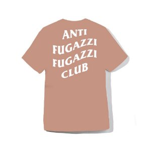 "YEEZY BUSTA - Camiseta Anti Fugazzi Club ""Coral/White"""