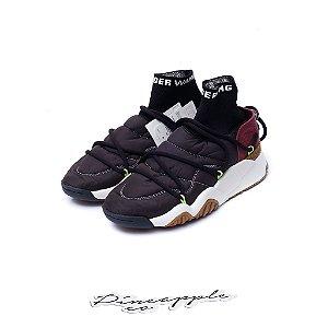 "adidas Puff Trainer x Alexander Wang ""Core Black/Solar Green"" -NOVO-"