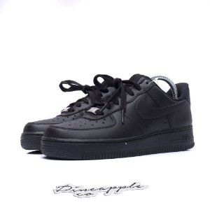 "Nike Air Force 1 Low ""Black"" (WMNS)"