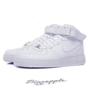 "Nike Air Force 1 Mid ""White"" (WMNS)"