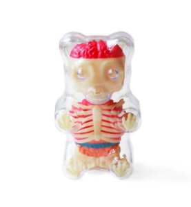 Jason Freeny -  Mini Gummi Bear Funny Anatomy