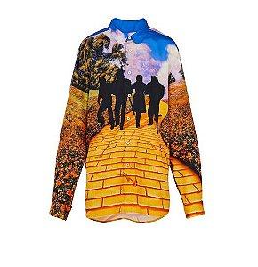 ENCOMENDA - Louis Vuitton x Virgil Abloh's - Camisa Wizard of Oz