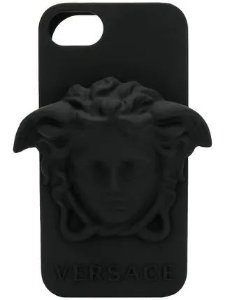"VERSACE - Capa Medusa Leather iPhone 7/8 ""Black"""