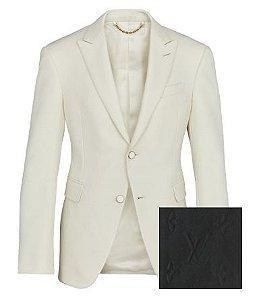 ENCOMENDA - Louis Vuitton x Virgil Abloh's - Blazer Monogram Curved Hem
