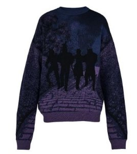 """ENCOMENDA - Louis Vuitton x Virgil Abloh's - Suéter Wizard of Oz """"Purple"""""""