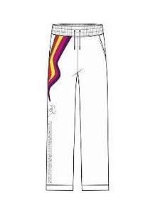 ENCOMENDA - Louis Vuitton x Virgil Abloh's - Calça Logo Embroidered Track Top