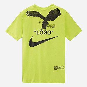 """Nike x Off-White - Camiseta Blazer """"Lime Green"""""""